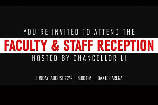 Faculty Staff Reception RSVP